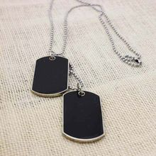 New Army Tactical Style Black 2 Dog Tags Chain Beauty Mens Pendant Necklace for Men Jewelry HOT     Tag a friend who would love this!     FREE Shipping Worldwide     Buy one here---> http://ebonyemporium.com/products/new-army-tactical-style-black-2-dog-tags-chain-beauty-mens-pendant-necklace-for-men-jewelry-hot/    #black_women