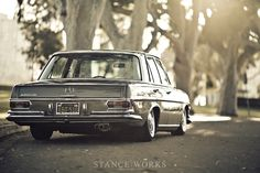 Stance Works - Bagged Mercedes Benz W108