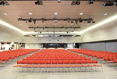 AV Technology for Multipurpose Venue, Oberbank Donau-Forum, Linz, Austria Austria, Technology, Conference, Linz, Tech, Tecnologia