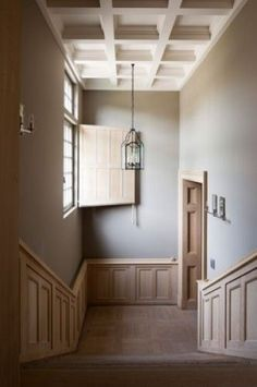 Classic belgian designed staircase - Bibeline Designs not as fussy as shabby, not as stark as danish Architecture Details, Interior Architecture, Interior And Exterior, Interior Styling, Interior Decorating, Entry Hallway, Entryway, Edwardian House, Belgian Style
