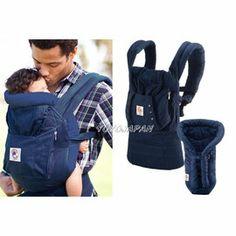 PChome Online 商店街 - 優幼日本通 - ERGObaby / Ergo Baby 爾哥寶寶嬰童背巾 organic 有機藍+有機藍保護毯組合