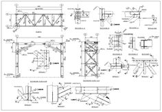 Steel Structure Details,Steel Structure CAD drawings,Steel building,Steel Structure Design