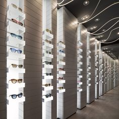 Carlotti optic boutique by Véronique Laurent store design