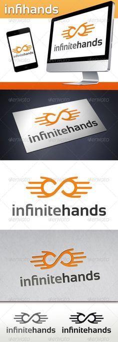 Infinite Hands Logo Template - Humans Logo Templates