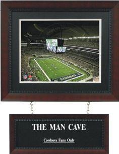 Amazon.com: Dallas Cowboys - Cowboys Stadium Man Cave Sign