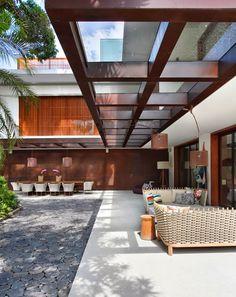 Aço Corten - tendência na arquitetura e na decoração!