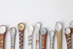 Akiko's Pottery Tiny Spoon 13