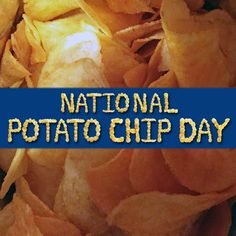 Today is National Potato Chip Day http://bettermadesnackfoods.com/national-potato-chip-day