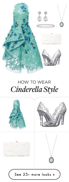 """""""Untitled #1"""" by lindseycorrigan on Polyvore featuring Monique Lhuillier, Dolce&Gabbana, Deux Lux, Kenneth Jay Lane, Epoque and Armenta"""