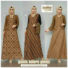 Batik Blazer, Blouse Batik, Batik Dress, Dress Brokat, Dress Anak, Batik Fashion, Fashion Sewing, Muslim Fashion, Hijab Fashion