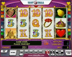 Play a sentimental story! Queen of Hearts slot by Novomatic is all about love. Play it at slotozilla.com