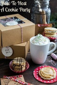 How To Host A Cookie Exchange from My Baking Addiction