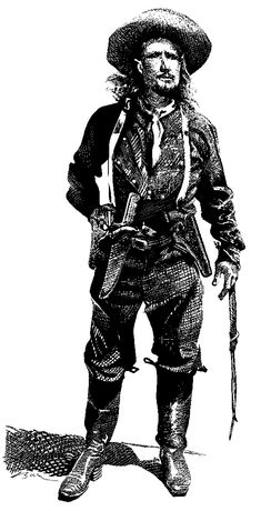 """Like most Old West icons, gunfighter """"Wild Bill"""" Hickok is shrouded in myths. Old West Photos, Wild West, Goth, Old Things, South Dakota, Hunters, Scouts, Celebrities, Cowboys"""