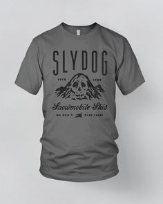 Slydogshirt 1 Graphic Tee Shirts Vintage Typography Arel Design Tees High Sd