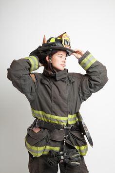 Firefighter Nicole McCall (Photo: Margo Moritz)
