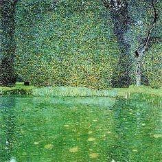 Gustav Klimt Pond at Schloss ...