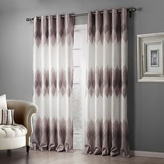 Two+Panels+Country+Floral+/+Botanical+Pink+Bedroom+Polyester+Blackout+Curtains+Drapes+–+USD+$+44.09
