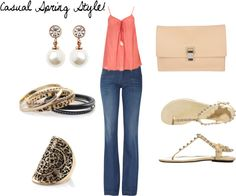 """""""Casual Spring Style!"""" by ask-taylor on Polyvore"""