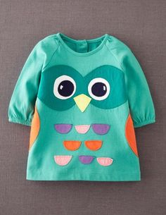 I've spotted this @BodenClothing Fun Appliqué Play Dress Minty Owl