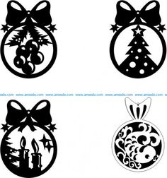 Christmas tree hanging ball file cdr and dxf free vector download for Laser cut CNC – Download Free Vector Free Vector Files, Vector Free Download, Christmas Deer, Christmas Balls, Vector Design, Vector Art, Silhouette Pictures, Filing, Laser Engraving