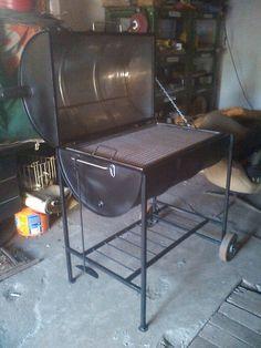 My barrell grill..