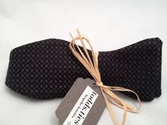 Handmade Bowtie  Black Formal by toddsties on Etsy, $35.00