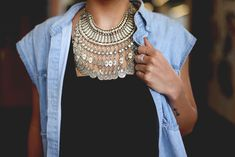 Office Style: Light Layers of jewelry http://buyjewelrydeals.com