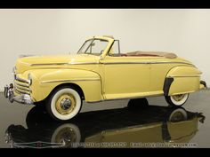 1948 Ford Super Deluxe Convertible..Re-pin..Brought to you by #agentsofInsurance at #HouseofInsurance in #EugeneOregon 97401, 97402, 97403, 97404, 97405