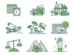 Team Culture Icons by Matt Anderson