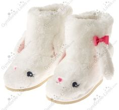 New Gymboree Glamour Ballerina Little Ballerina Bunny Boots - Size 3 or 5 - $17 shipped USA