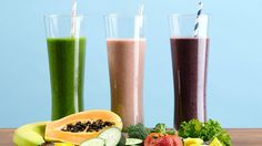 3 Smoothies to Help You Lose the Pooch: What's not to love about a smoothie that helps your abs?