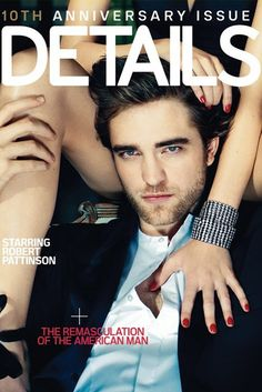 Robert Pattinson. He's not American, no bug deal. But he's hot as hell in this photo.