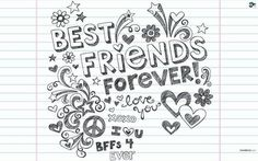 #Drawing #Bff #Love #Gift