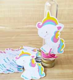 Unicorn Birthday Parties, Unicorn Party, Birthday Party Themes, Little Poney, Ice Cream Party, Ideas Para Fiestas, Paper Flowers Diy, Diy Party, Birthday Decorations