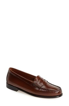 Bobbie Really wants these in brown.  Free shipping and returns on G.H. Bass and Co. G.H. Bass & Co. 'Wayfarer' Loafer (Women) at Nordstrom.com. Classic penny loafer features hand-sewn moccasin construction, with a breathable, cushioned footbed for all-day comfort.
