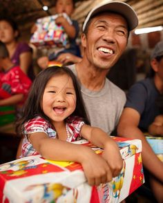 Happy Father's Day!  What is your favorite memory with your father?  #operationchristmaschild #FathersDay