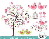 Japanese kokeshi Doll kawaii clip art digital file by GingerWorld