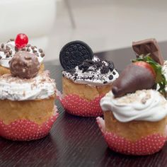 Cupcakes con los mejores chocolates :)