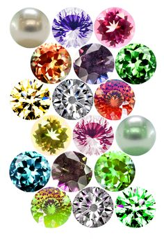 "Flashy Gemstones Bottle cap image pack  Formatted for printing on 4"" x 6"" photo paper"