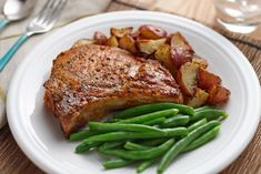 Ranch Pork Chops Recipe - The ranch can get a bit salty, be sure to use nice thick pork chops!
