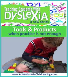 """Teaching Students with Dyslexia Series: Products and Tools - FREE Printables  (2nd post in seriesrelaxed"""" homeschooler. We do a lot of hands on learning, traveling, museums and outdoor exploring. I read aloud to the boys about science and history and we have wonderful discussions about what we learn."""