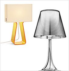 It's here: our best and the brightest table lamps in-stock and ready to ship. From architectural anglepoise designs to chic shades of colored plastic, this curated collection will have even your darkest décor looking on the bright side. Turn on to a more stylish summer with top picks from FLOS, Kartell, Pablo Designs, and more.