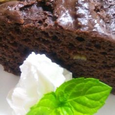 Cocoa Pound Cake with Tofu and Banana | Washoku.Guide