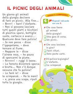 from Il Filo delle idee - Italian Vocabulary, Italian Lessons, Reading Practice, Italian Language, Learning Italian, Flashcard, Poems, Preschool, Dads