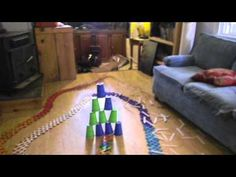 Popsicle Stick Chain Reaction video of new record 1000 sticks HD! @ Mom Trusted