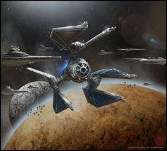 Star Wars Tie-Defender - Star Wars Ships - Ideas of Star Wars Ships - Pin This Star Wars Film, Rpg Star Wars, Nave Star Wars, Star Wars Ships, Star Wars Poster, Starwars, Star Wars Vehicles, Star Wars Models, Star Wars Concept Art