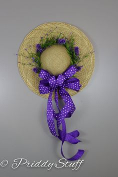 1 million+ Stunning Free Images to Use Anywhere Hat Crafts, Wreath Crafts, Diy Wreath, How To Make Wreaths, Crafts To Make, Easter Crafts, Holiday Crafts, Hat Decoration, Spring Hats