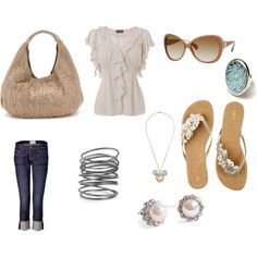 First outfit :), created by erika10609.polyvore.com