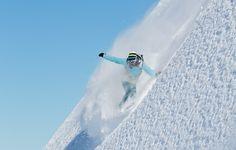 Miss Blieler doing what she does best. I <3 Snowboarding!!!!!