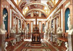 Real Casa del Labrador. Galeria de estátuas